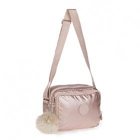 [키플링]KIPLING - SILEN Small shoulderbag Metallic Blush 사일런 크로스백