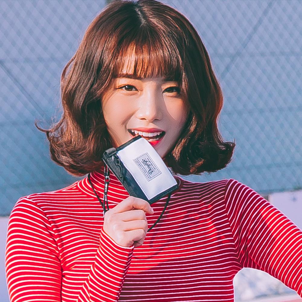 [데이라이프] DAYLIFE 미니미 케이스 (화이트/블랙) 목걸이 동전지갑