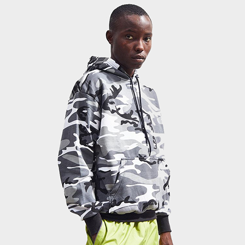 [로스코] ROTHCO CAMO PULLOVER HOODED SWEATSHIRT (CITY CAMO) 후드티셔츠 후디