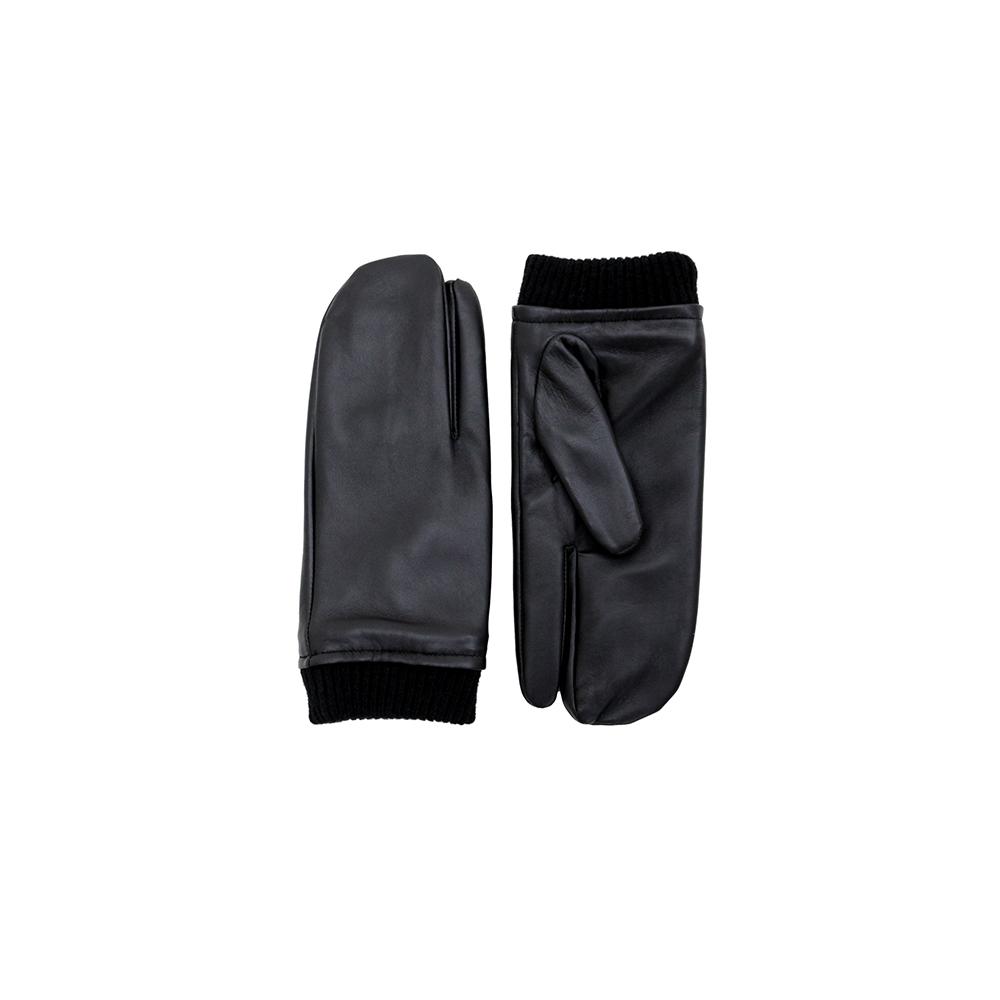 [페넥]FENNEC LEATHER TIMI GLOVES - BLACK 가죽 스마트폰 장갑