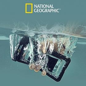 [내셔널지오그래픽]NATIONAL GEOGRAPHIC-스마트폰 방수팩/물에뜨는 튜브식 방수케이스/암밴드
