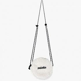 [피스메이커]PIECE MAKER - FLEECE CIRCLE BAG (WHITE) 크로스백