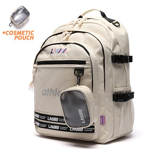 [르마인]LE MINE - LE43FIV 애슬래틱 백팩(아이보리) 가방