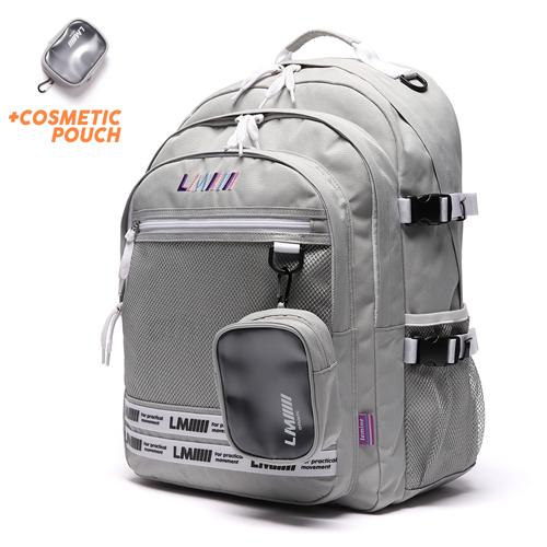 [르마인]LE MINE - LE43FDG 애슬래틱 백팩(그레이) 가방