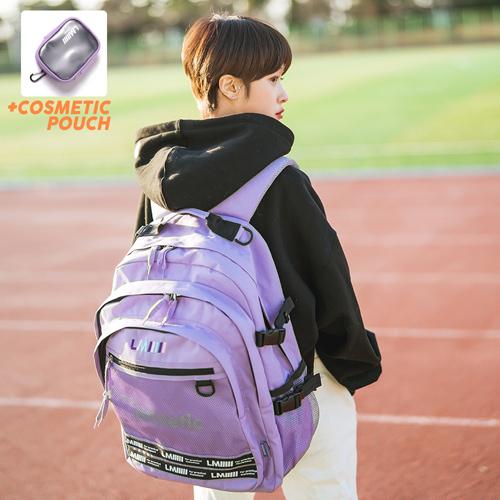 [르마인]LE MINE - LE43FPP 애슬래틱 백팩(퍼플) 가방