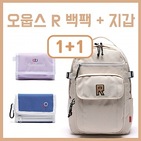 [세트상품][로아드로아] R 백팩 + 인기지갑