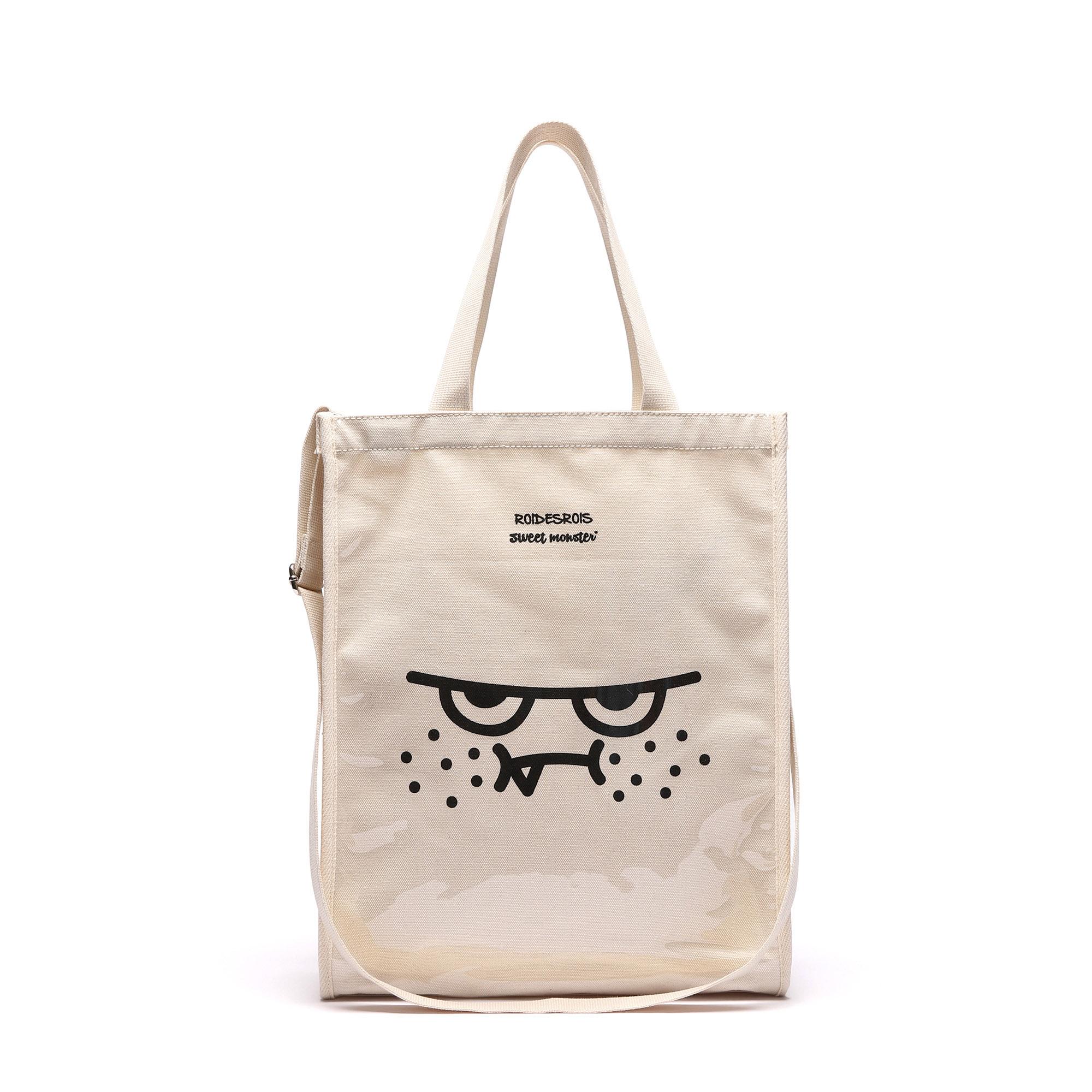 [로아드로아X스위트몬스터] ORANGEMON PVC BAG (IVORY) 토트백 숄더백 크로스백 가방