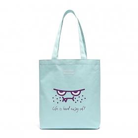 [로아드로아X스위트몬스터] ORANGEMON ECO BAG (SWEET BLUE) 에코백 토트백 가방