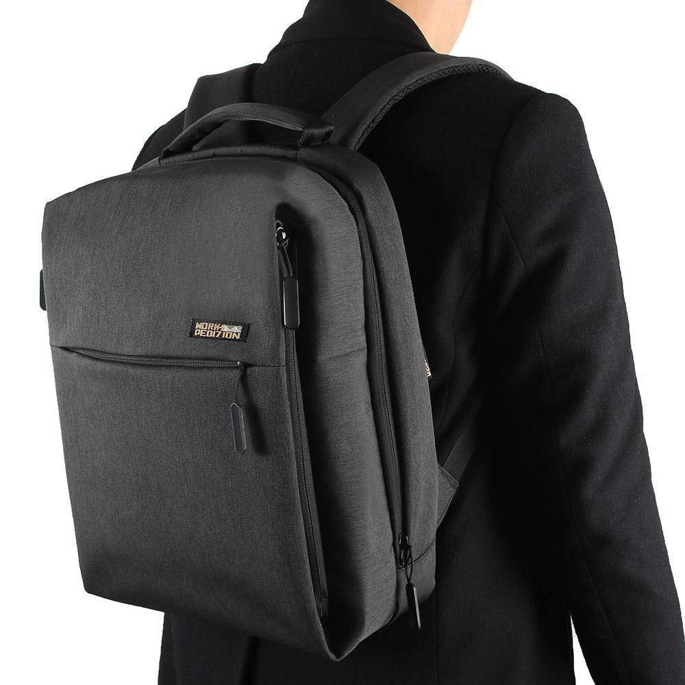 (사은품 증정) 웍스페디션 어반시티 노트북 백팩 블랙 밀리터리 가방