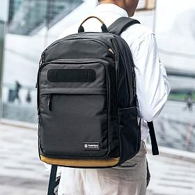 [탐탁]tomtoc A76-City Series 맥북 노트북 USB 백팩 블랙 탐탁코리아 정품