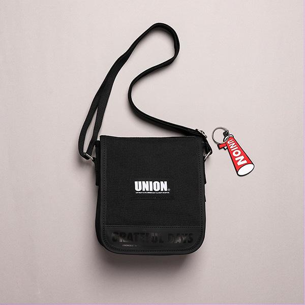 [유니온오브제]UNION COVER CROSS BAG - BLACK 크로스백
