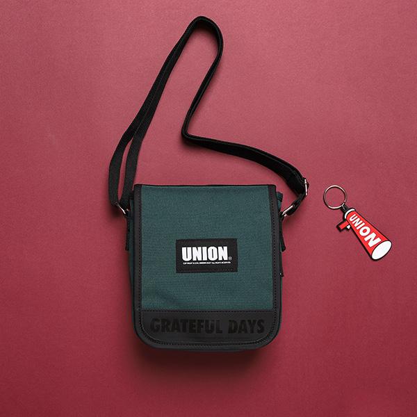 [유니온오브제]UNION COVER CROSS BAG - GREEN 크로스백