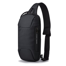 [쿠드기어]COODGEAR - XIX 004 Sling Bag (Black) 슬링백