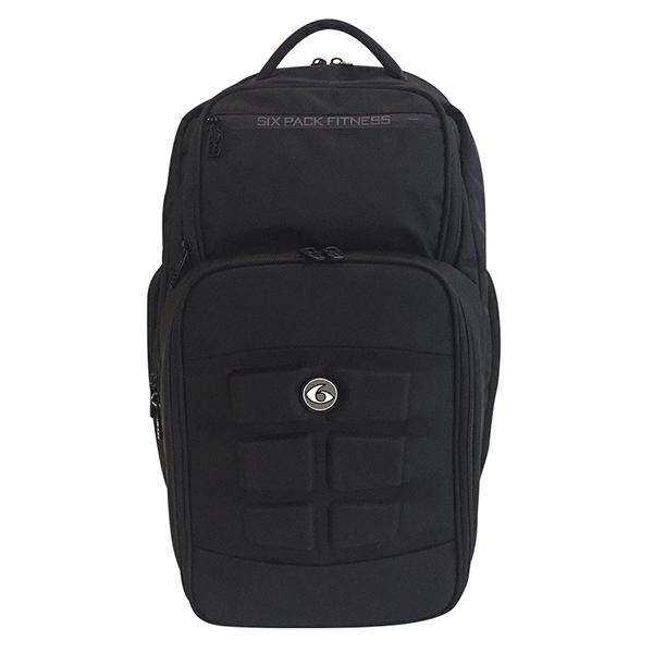 [식스팩코리아]SIX PACK FITNESS-익스페디션백팩 500 (블랙) 도시락가방 백팩
