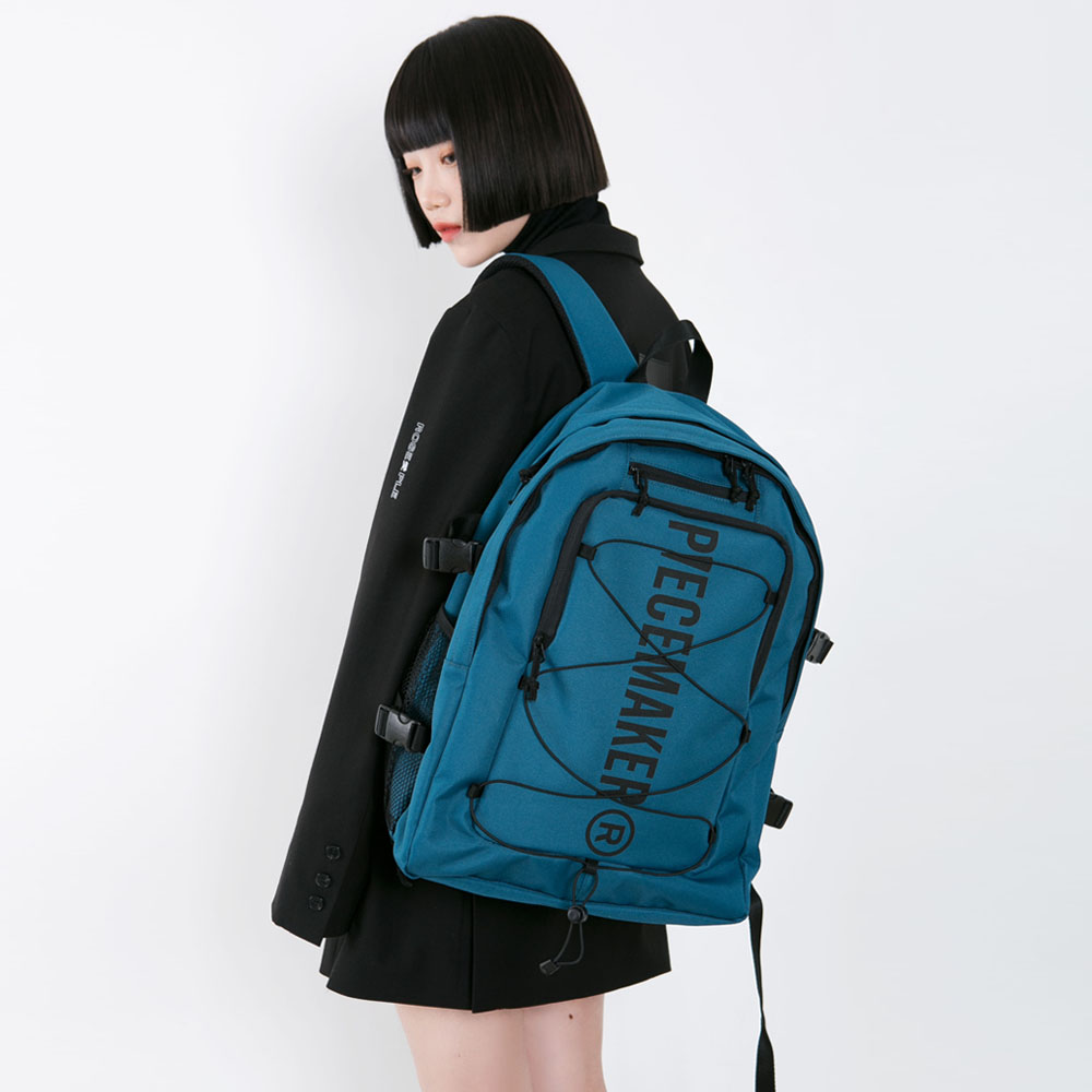 STRING SQUARE BACKPACK (GREEN)