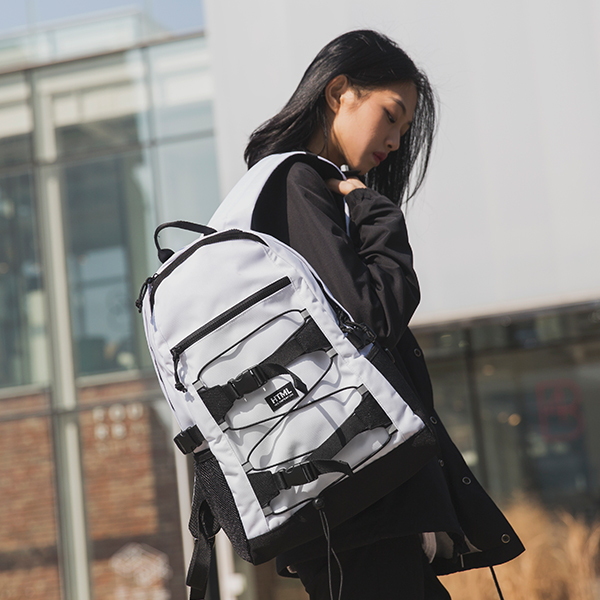 에이치티엠엘 SK8 STRING BACKPACK (WHITE)