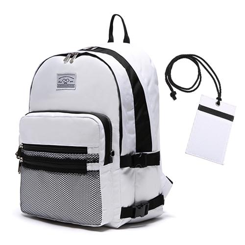 [로디스]LODIS - 3D BACKPACK - WHITE  학생백팩 학생가방 신학기