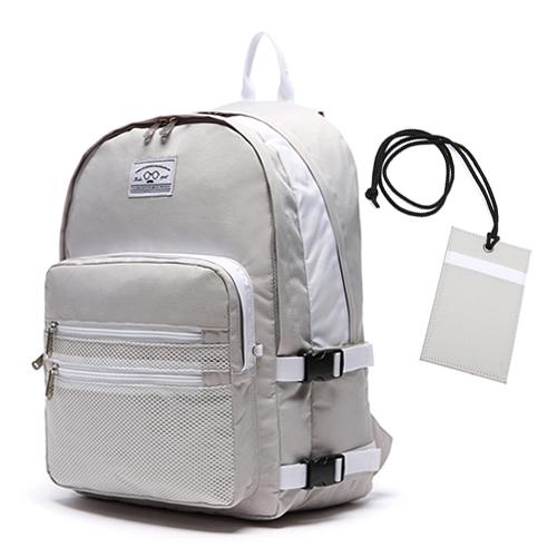 [로디스]LODIS - 3D BACKPACK - LIGHT GRAY  학생백팩 학생가방 신학기