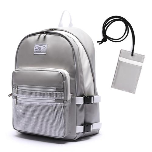 [로디스]LODIS - 3D BACKPACK - LEATHER GRAY  학생백팩 학생가방 신학기