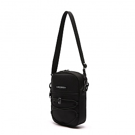 [카고브로스]CARGOBROS - LOGO LABEL CROSSBAG (BLACK) 가방 크로스백