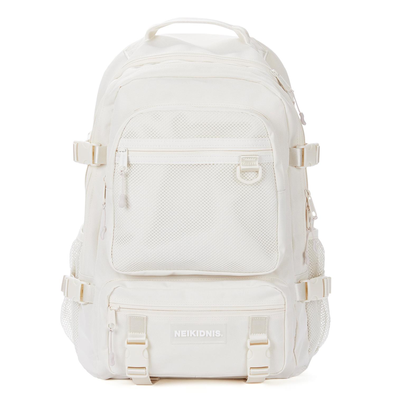 [네이키드니스]PREMIER BACKPACK / IVORY 프리미어 메쉬 백팩 망사 가방