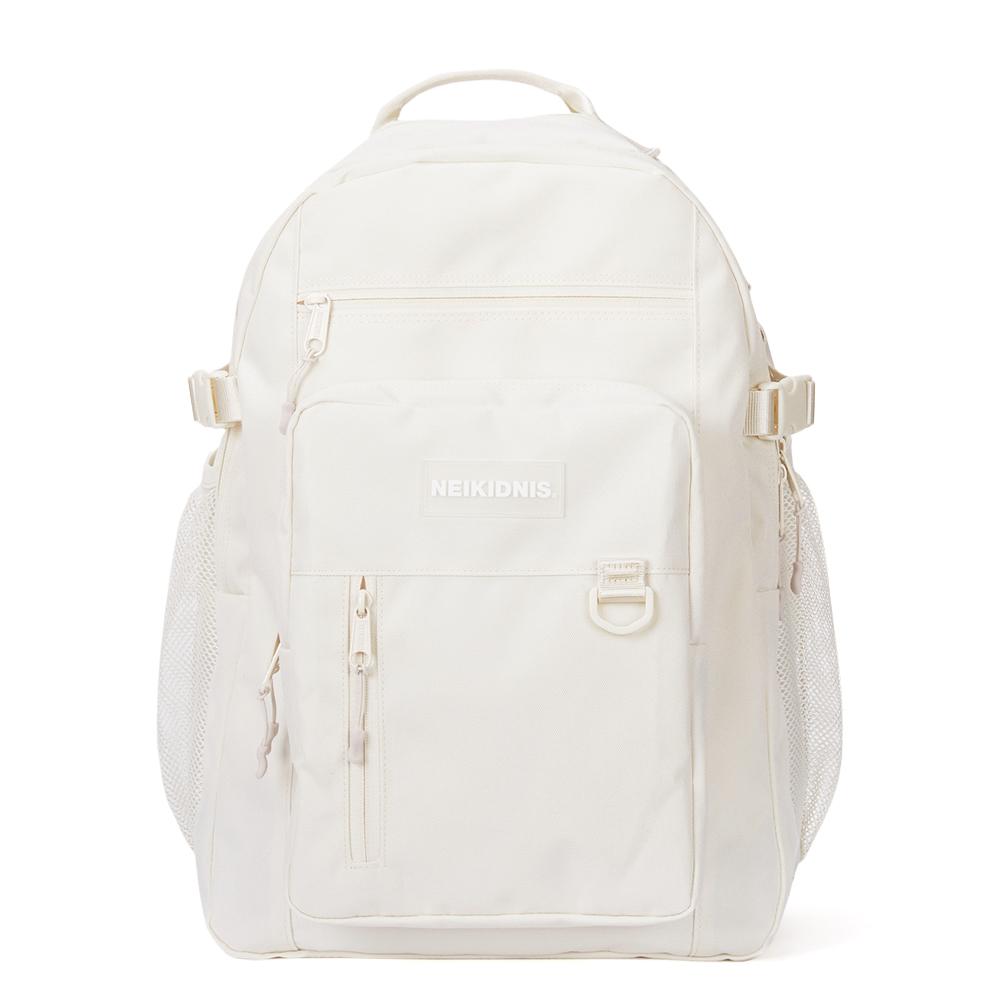 [네이키드니스]TRAVEL PLUS BACKPACK / IVORY 트래블 플러스 백팩 가방
