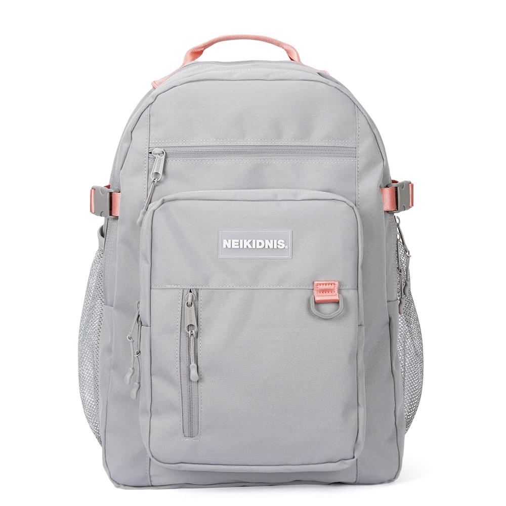 [네이키드니스]TRAVEL PLUS BACKPACK / GRAY PINK 트래블 플러스 백팩 가방