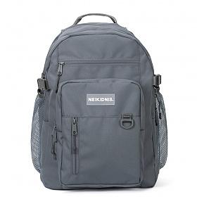 [네이키드니스]TRAVEL PLUS BACKPACK / CHARCOAL 트래블 플러스 백팩 가방