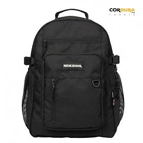 [3/8 출고 예약판매][네이키드니스]TRAVEL PLUS BACKPACK / BLACK 트래블 플러스 백팩 가방