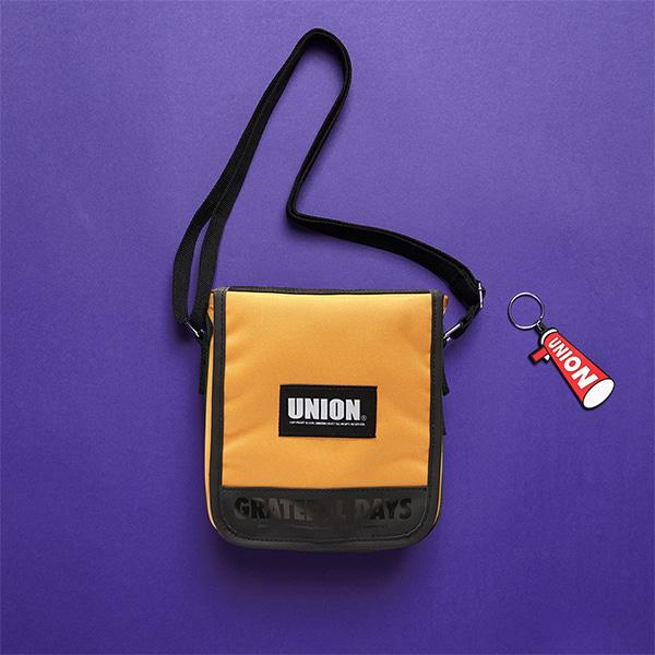[유니온오브제]UNION COVER CROSS BAG - YELLOW 크로스백