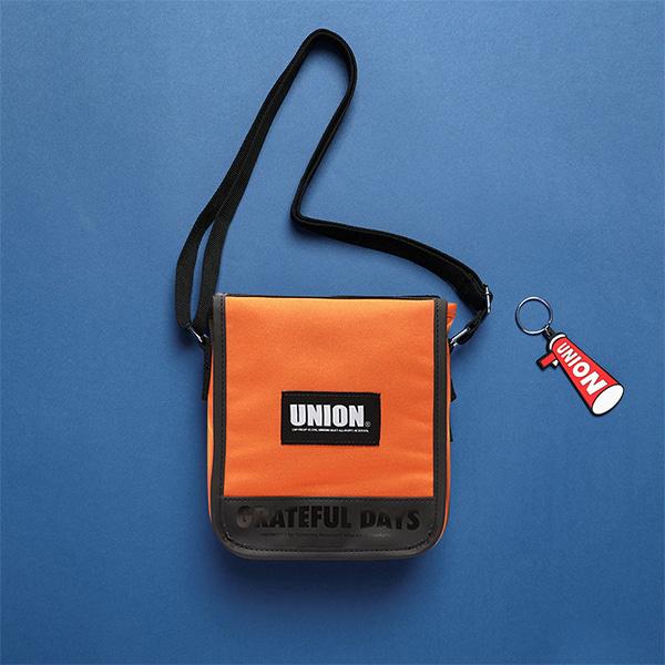 [유니온오브제]UNION COVER CROSS BAG - ORANGE 크로스백
