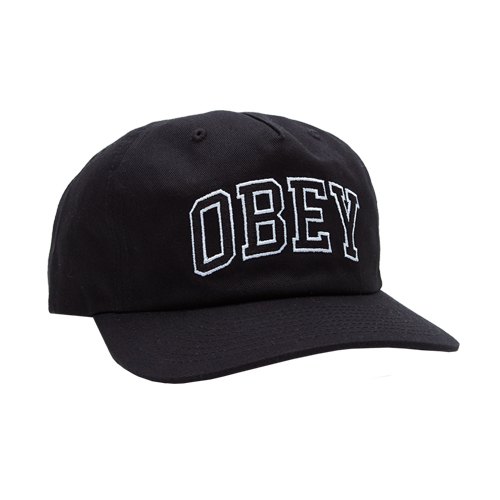 [오베이]OBEY - DROPOUT SNAPBACK (BLACK) 스냅백 모자