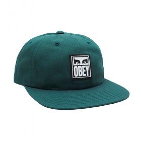 [오베이]OBEY - VANISH 6 PANEL SNAPBACK (DEEP GREEN) 스냅백 모자