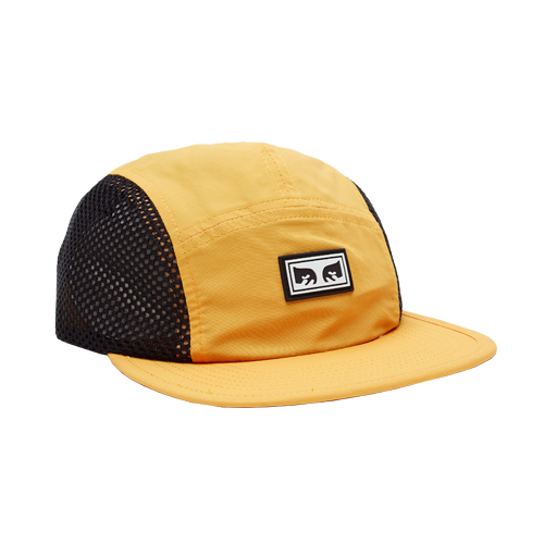 [오베이]OBEY - ALCHEMY 5 PANEL HAT (MINERAL YELLOW) 메쉬 캠프캡 모자