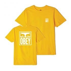 [오베이]OBEY - OBEY EYES ICON T-SHIRT (GOLD) 반팔티 티셔츠