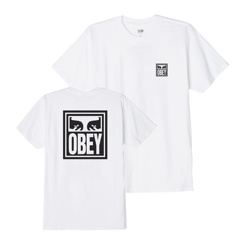 [오베이]OBEY - OBEY EYES ICON T-SHIRT (WHITE) 반팔티 티셔츠