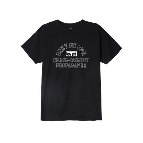 [오베이]OBEY - OBEY NO ONE EYES T-SHIRT (BLACK) 반팔티 티셔츠