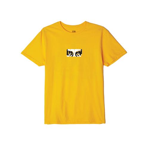 [오베이]OBEY - EYES OF OBEY T-SHIRT (GOLD) 반팔티 티셔츠