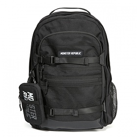 몬스터리퍼블릭 EXCEEDING 3D POCKET BACKPACK / BLACK 백팩