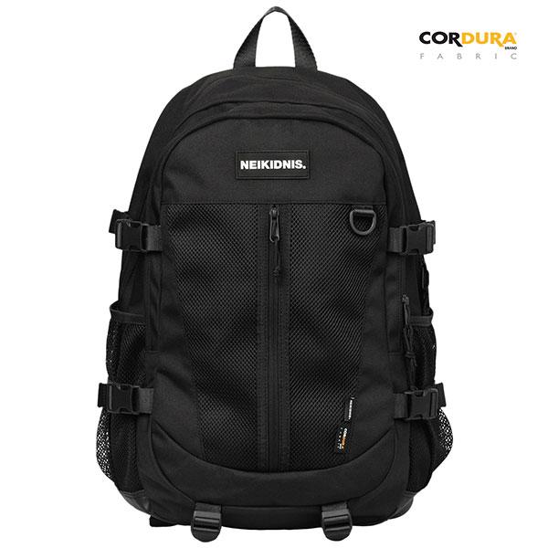 [네이키드니스]COMPLETE BACKPACK / BLACK 컴플리트 메쉬 백팩 망사 가방