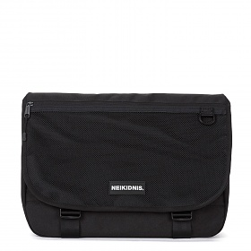 [네이키드니스] WIDE VISION MESSENGER BAG / BLACK 메신저백