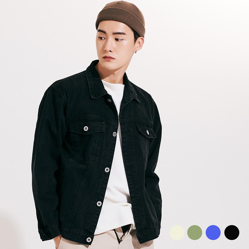 [프로젝트624](UNISEX) 워싱 베이직 트러커 쟈켓 4COLOR