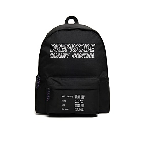 [드레피소드] DQC 로고 노트북 백팩 DL19-BK