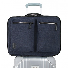 제이월드 - 캐리어형 백팩 STATION JWS-115 네이비 노트북수납 여행용백팩