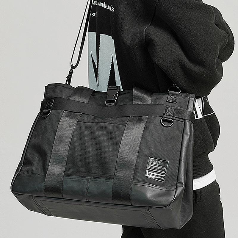 [사은품 증정/구매후기 지갑증정][몬스터리퍼블릭] RESPECT CROSS BAG / BLACK 크로스백