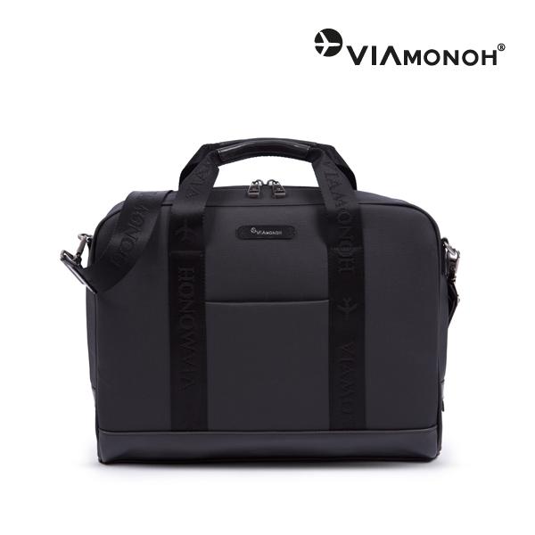 [비아모노] FREDDY BRIEFCASE BLACK 브리프케이스 토트백 서류가방