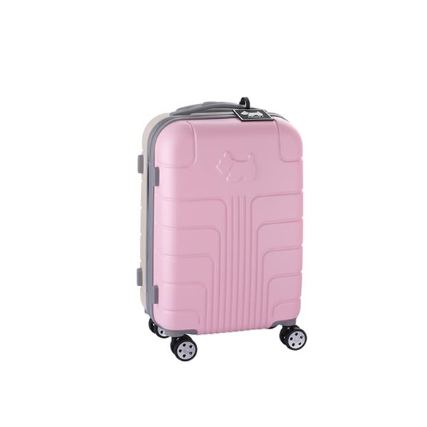 [파우치4종+네임택 증정][아가타] 05 투톤라인 핑크 20인치 하드 캐리어 정품