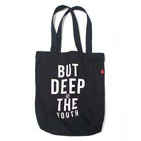 [벗딥]BUTDEEP - THE YOUTH ECO BAG-BLACK 에코백 숄더백