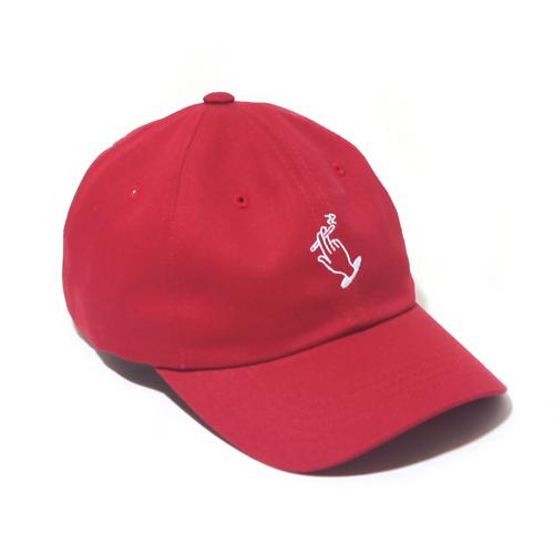 [벗딥]BUTDEEP - 19 NO SMOKING CURVED CAP-CARDINAL 모자 볼캡
