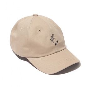 [벗딥]BUTDEEP - 19 NO SMOKING CURVED CAP-BEIGE 모자 볼캡